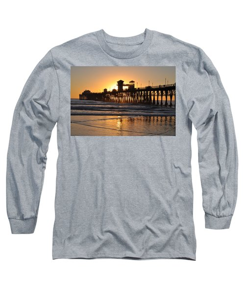 Oceanside Pier Long Sleeve T-Shirt