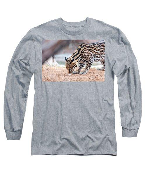 Ocelot And Egg Long Sleeve T-Shirt