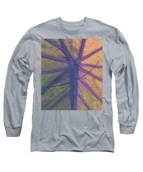 Long Sleeve T-Shirt featuring the photograph October Leaf by Peg Toliver