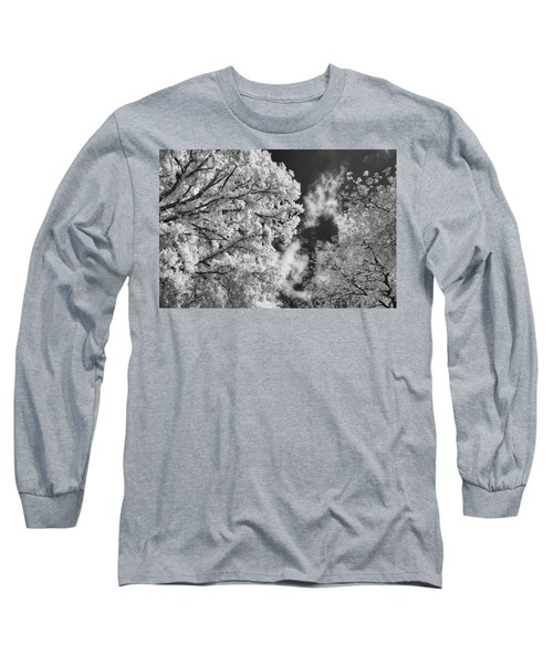 October Sky Ir Long Sleeve T-Shirt by Michael McGowan