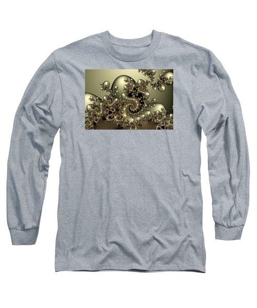 Long Sleeve T-Shirt featuring the digital art Octopus by Karin Kuhlmann