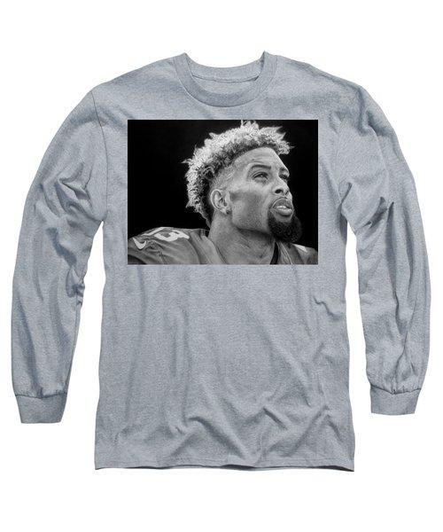 Odell Beckham Jr. Drawing Long Sleeve T-Shirt
