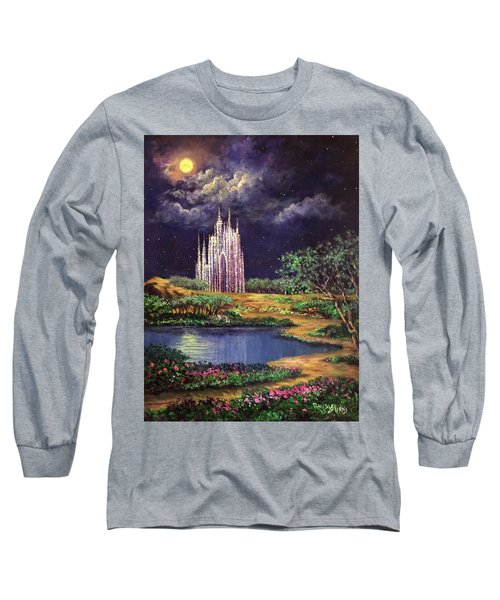 Of Glass Castles And Moonlight Long Sleeve T-Shirt