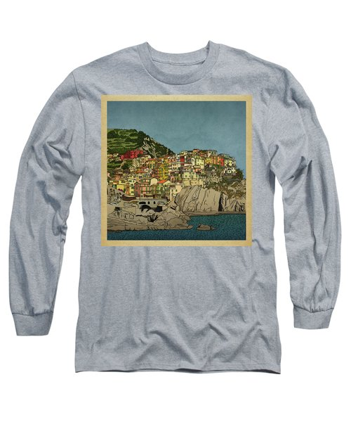 Of Houses And Hills Long Sleeve T-Shirt
