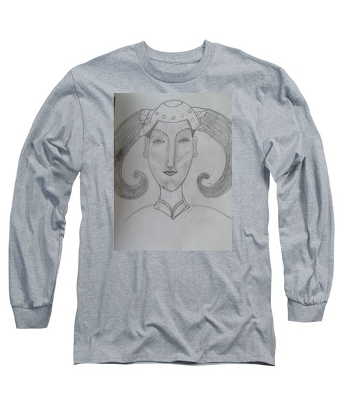 Of The Ming Dynasty Long Sleeve T-Shirt by Sharyn Winters