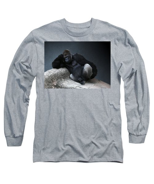 Off Duty Gorilla Long Sleeve T-Shirt
