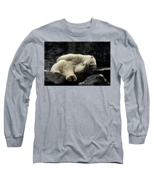 Oh What A Night Polar Bear Long Sleeve T-Shirt