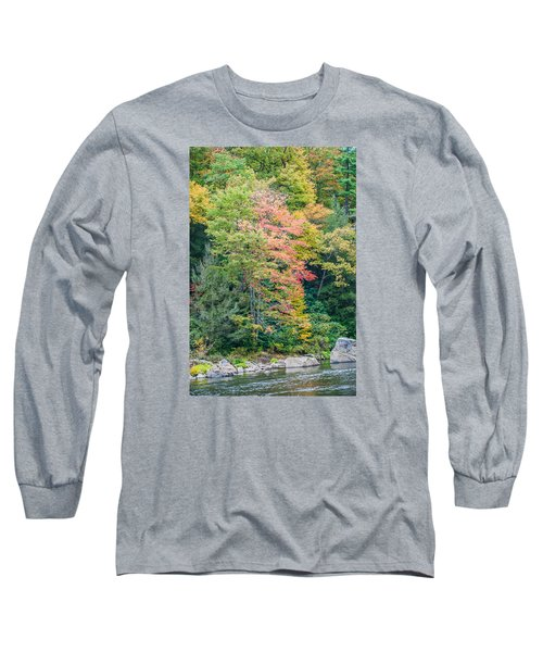 Ohio Pyle Colors - 9709 Long Sleeve T-Shirt by G L Sarti
