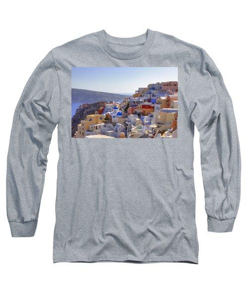 Oia - Santorini Long Sleeve T-Shirt