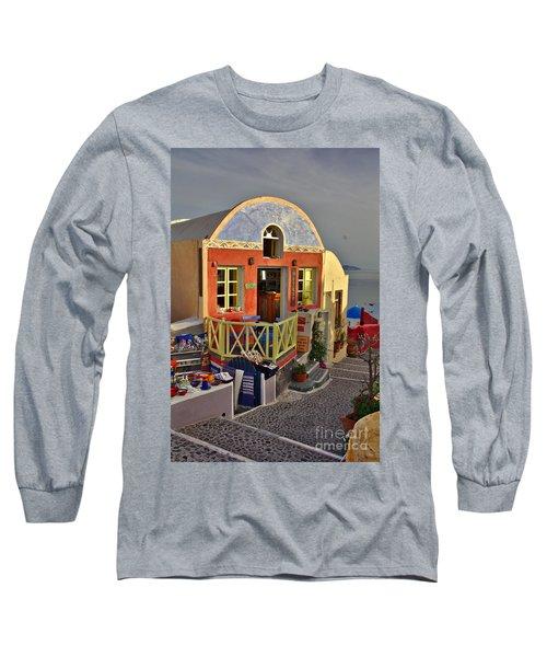 Oia Pub Long Sleeve T-Shirt