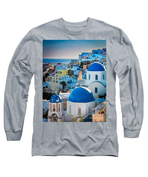 Oia Town Long Sleeve T-Shirt