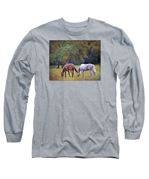 Ok Horse Ranch_2a Long Sleeve T-Shirt