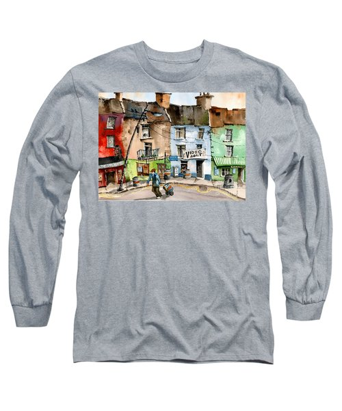 Ok Wheres The Party. Clifden, Galway. Long Sleeve T-Shirt