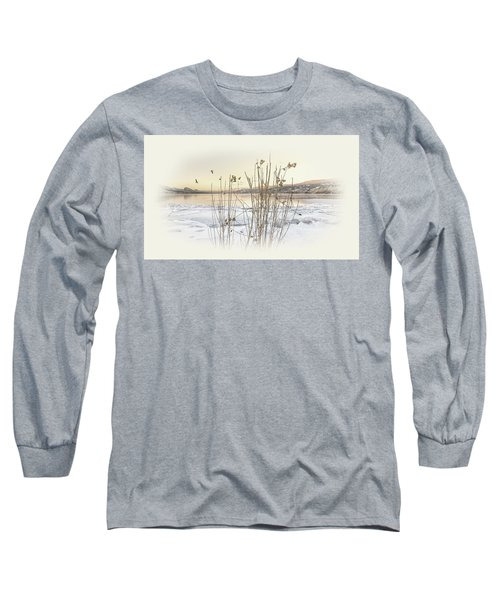 Long Sleeve T-Shirt featuring the photograph Okanagan Glod by John Poon