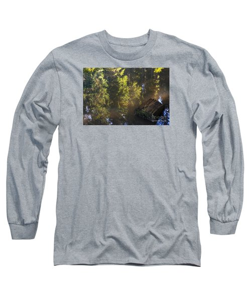 Old And New Life Long Sleeve T-Shirt by Yuri Santin