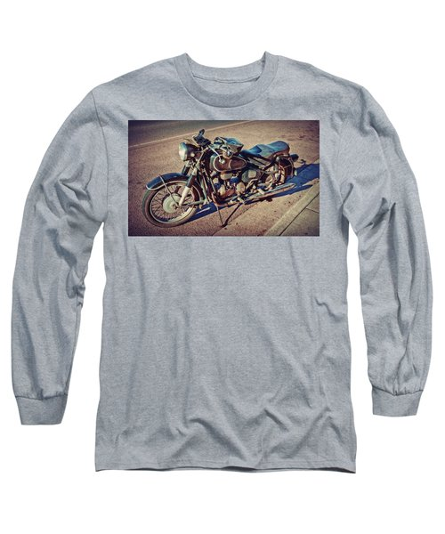 Old Beamer Motorcycle Long Sleeve T-Shirt