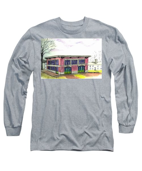 Old Beverly Firestation Long Sleeve T-Shirt by Paul Meinerth