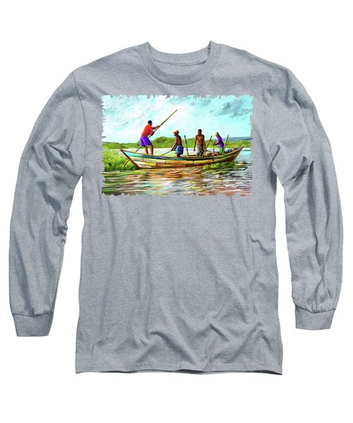 Old Boat Long Sleeve T-Shirt