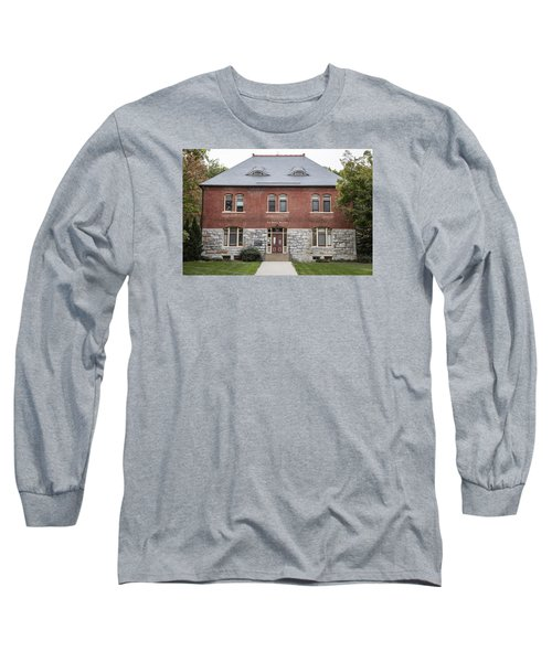 Old Botany Building Penn State  Long Sleeve T-Shirt by John McGraw