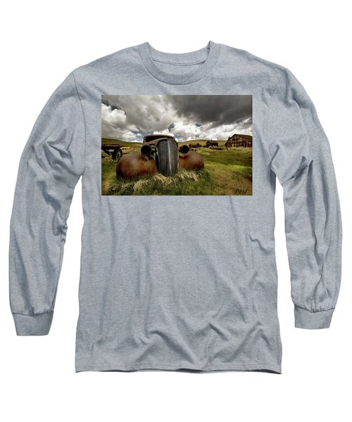 Old  Car Bodie State Park Long Sleeve T-Shirt