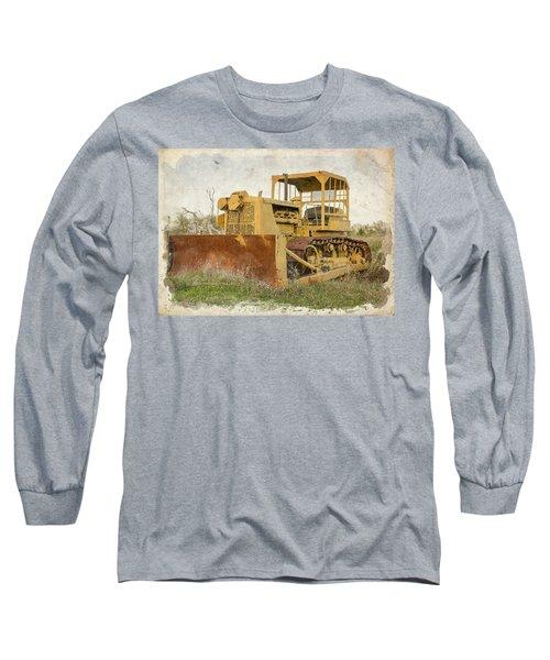 Old Cat Watercolor IIi Long Sleeve T-Shirt
