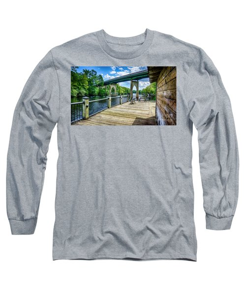 Old Conway Bridge Long Sleeve T-Shirt