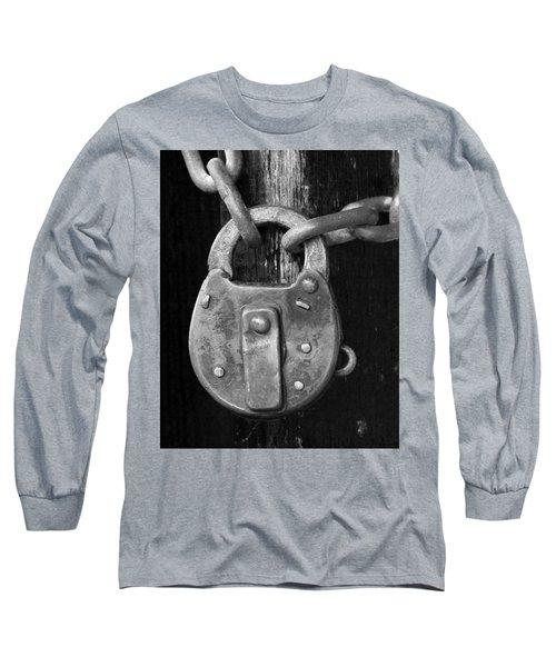 Old Corbin Padlock Long Sleeve T-Shirt