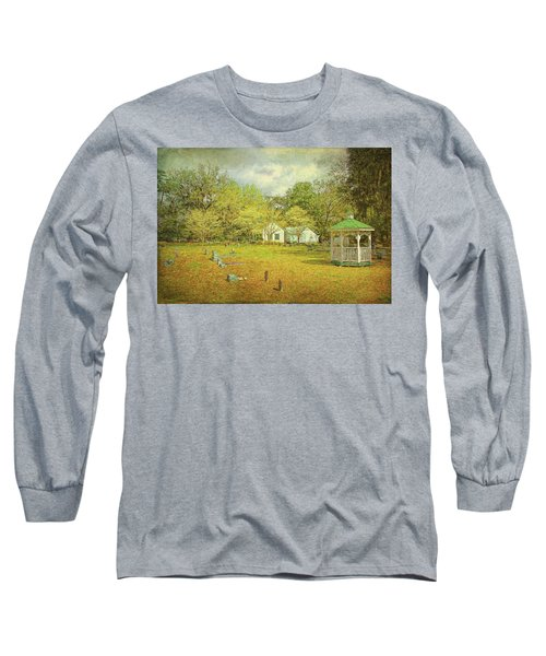 Long Sleeve T-Shirt featuring the photograph Old Country Church by Lewis Mann