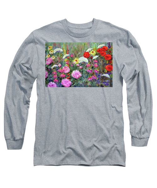 Old Fashioned Garden Long Sleeve T-Shirt
