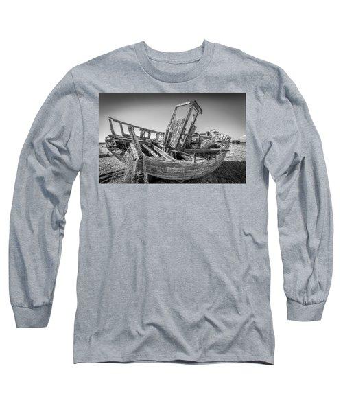 Old Fishing Boat. Long Sleeve T-Shirt