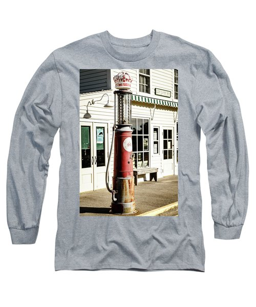 Long Sleeve T-Shirt featuring the photograph Old Fuel Pump by Alexey Stiop