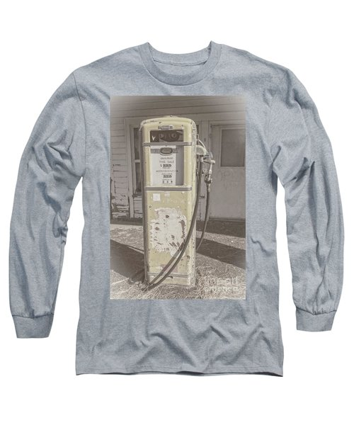 Long Sleeve T-Shirt featuring the photograph Old Gas Pump by Robert Bales
