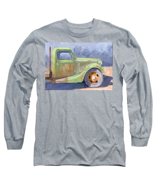 Old Green Ford Long Sleeve T-Shirt