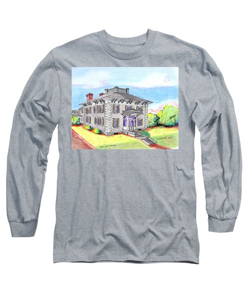 Old Hunt Hospital Long Sleeve T-Shirt by Paul Meinerth