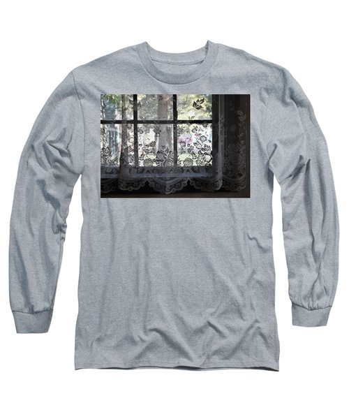 Old Lace And Old Times Long Sleeve T-Shirt by John Glass