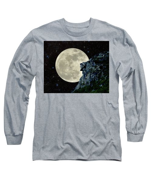 Old Man / Man In The Moon Long Sleeve T-Shirt