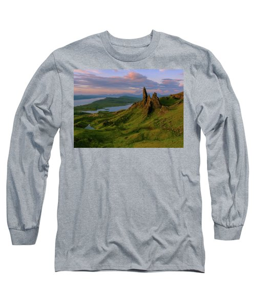 Old Man Of Storr Long Sleeve T-Shirt