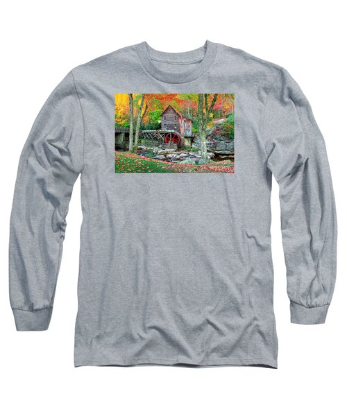 Old Mill Long Sleeve T-Shirt by Emmanuel Panagiotakis