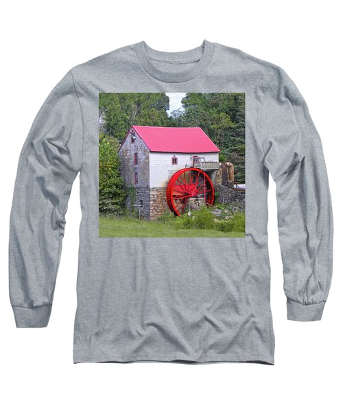 Old Mill Of Guilford Squared Long Sleeve T-Shirt by Sandi OReilly