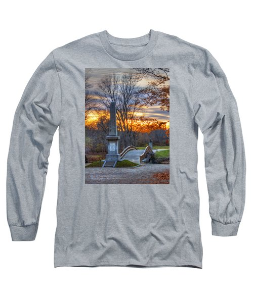 Old North Bridge - Concord Ma Long Sleeve T-Shirt