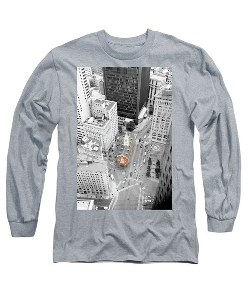 Long Sleeve T-Shirt featuring the photograph Old State House by Greg Fortier
