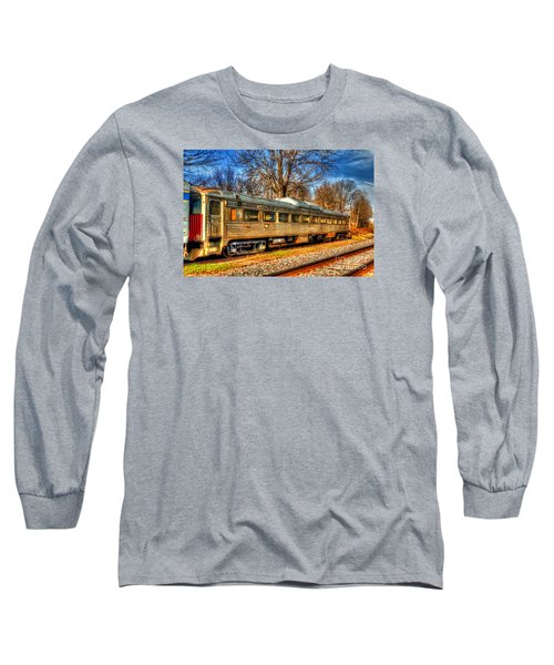 Old Rail Car Long Sleeve T-Shirt