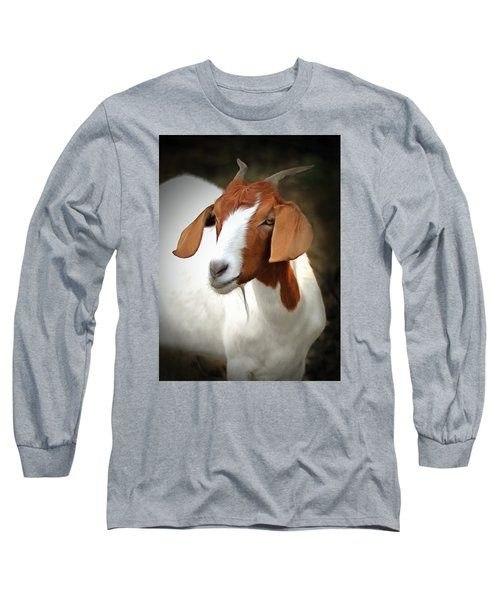 Long Sleeve T-Shirt featuring the photograph Old Red by Marion Johnson