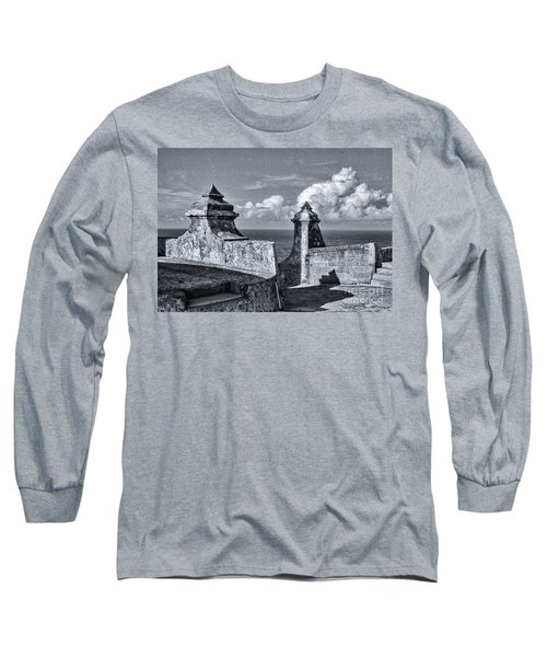 Old San Jaun Fort Long Sleeve T-Shirt