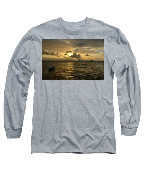Old San Juan 3772 Long Sleeve T-Shirt by Ricardo J Ruiz de Porras