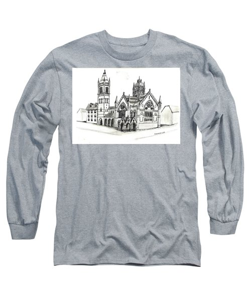 Old South Church - Bosotn Long Sleeve T-Shirt by Paul Meinerth