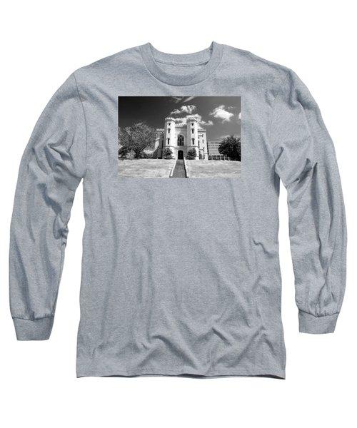 Old State Capital Long Sleeve T-Shirt by Scott Pellegrin