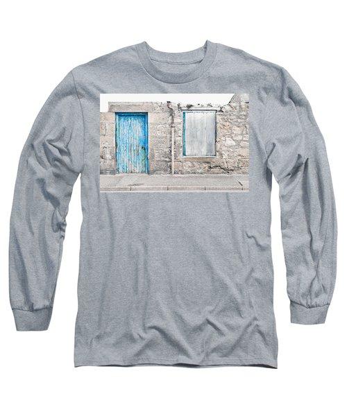 Old Stone Cottage Long Sleeve T-Shirt