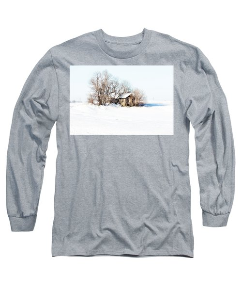 Old  Stone House Milford Long Sleeve T-Shirt by Julie Hamilton
