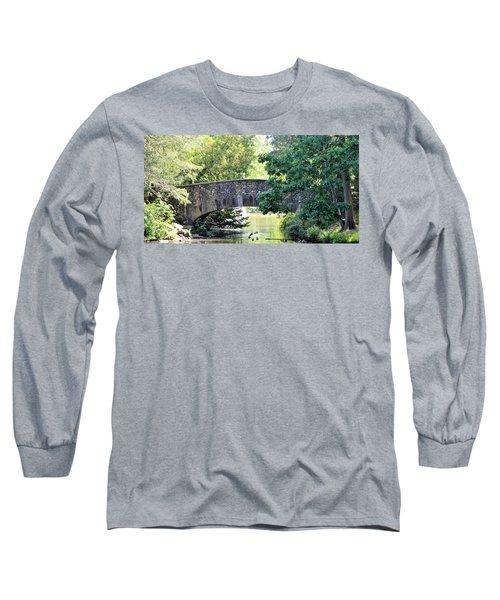 Old Stone Walkway Long Sleeve T-Shirt